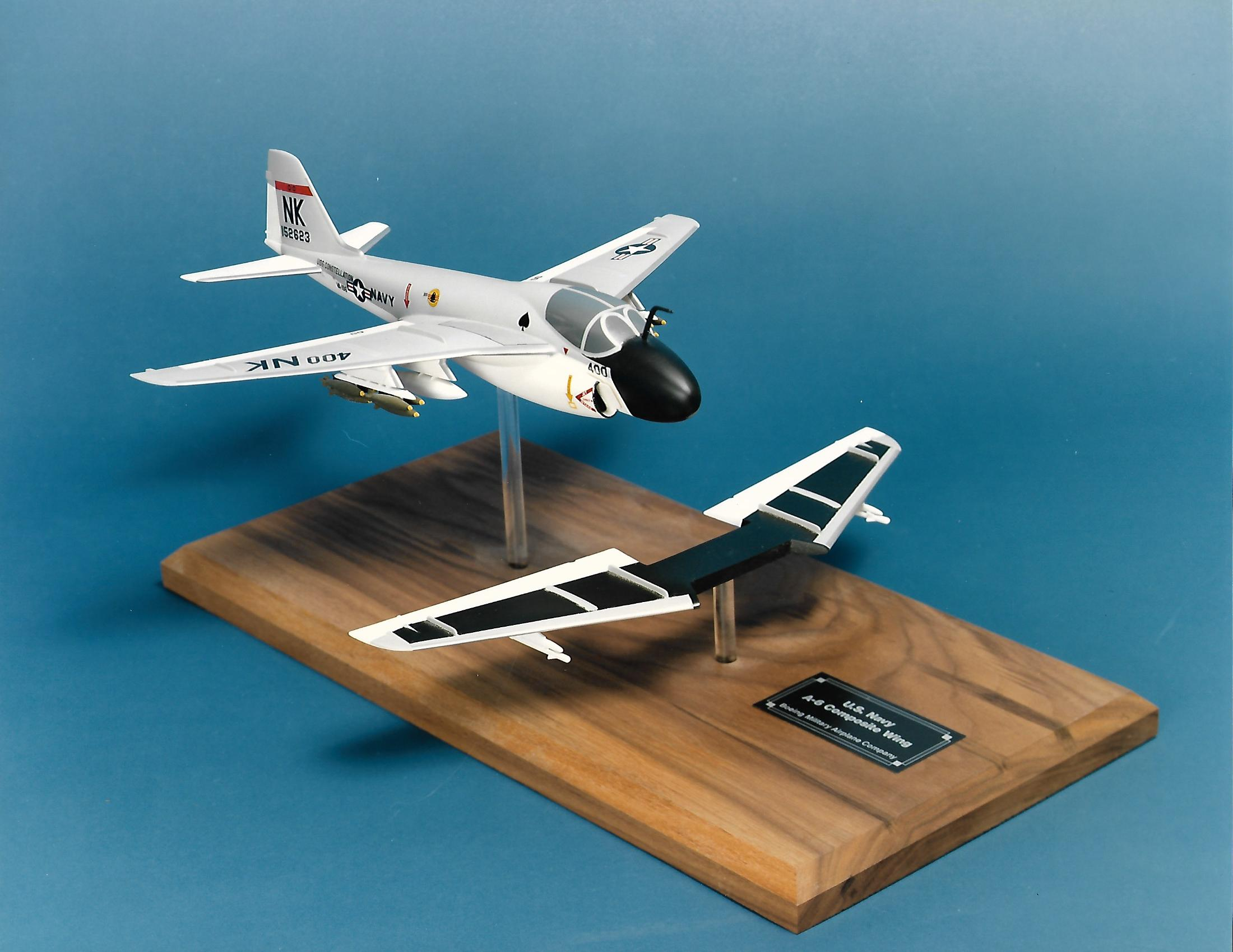 Grumman A-6 factory model