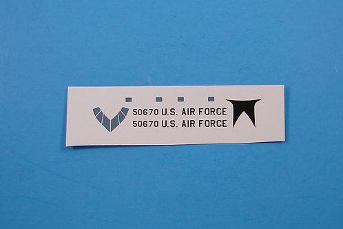 Convair B-58 Limited Decal Sheet
