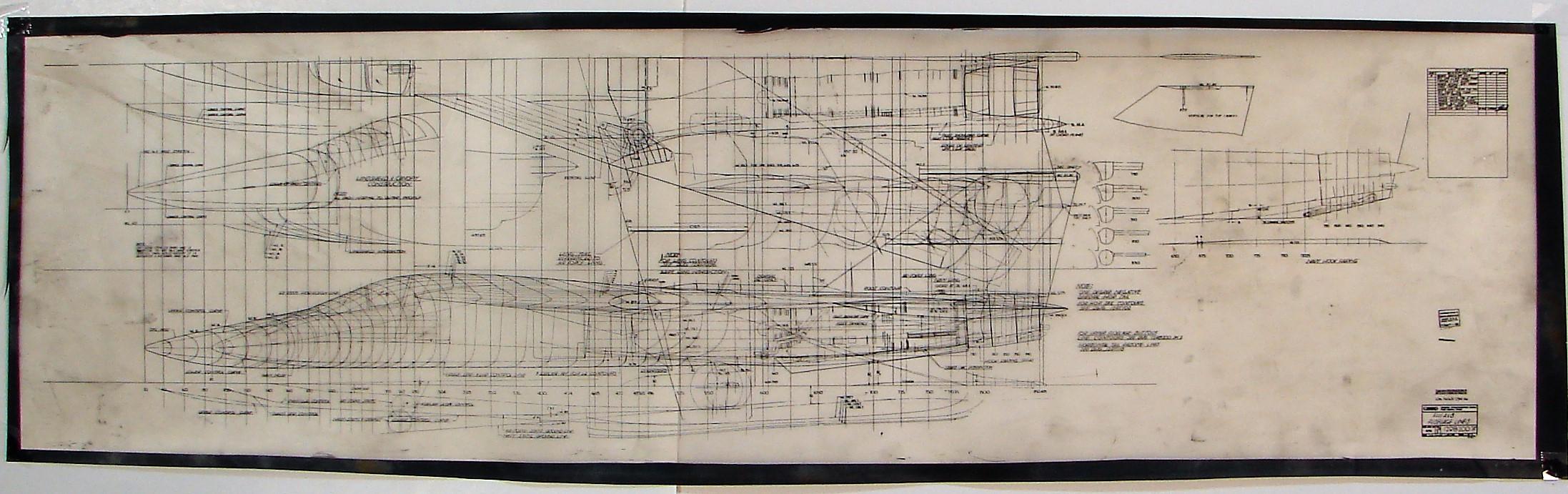 F-111A & B fuselage lines 10.13.66
