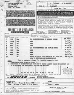 Boeing Minuteman Quote 1967