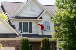 House Pressure Washed in Warren NJ