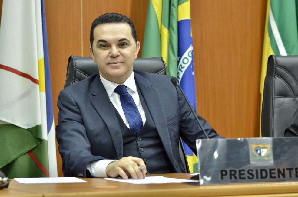 deputado Jalser Renier, afastado da presidência da Assembleia Legislativa
