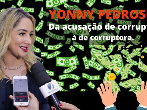 BOMBA, BOMBA, BOMBA: Yonny Pedroso vai de corrupta a corruptora. Deputada oferece propina de R$ 5 mi