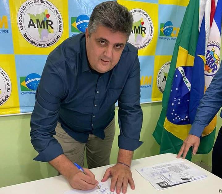 prefeito Joner Chagas, de Bonfim