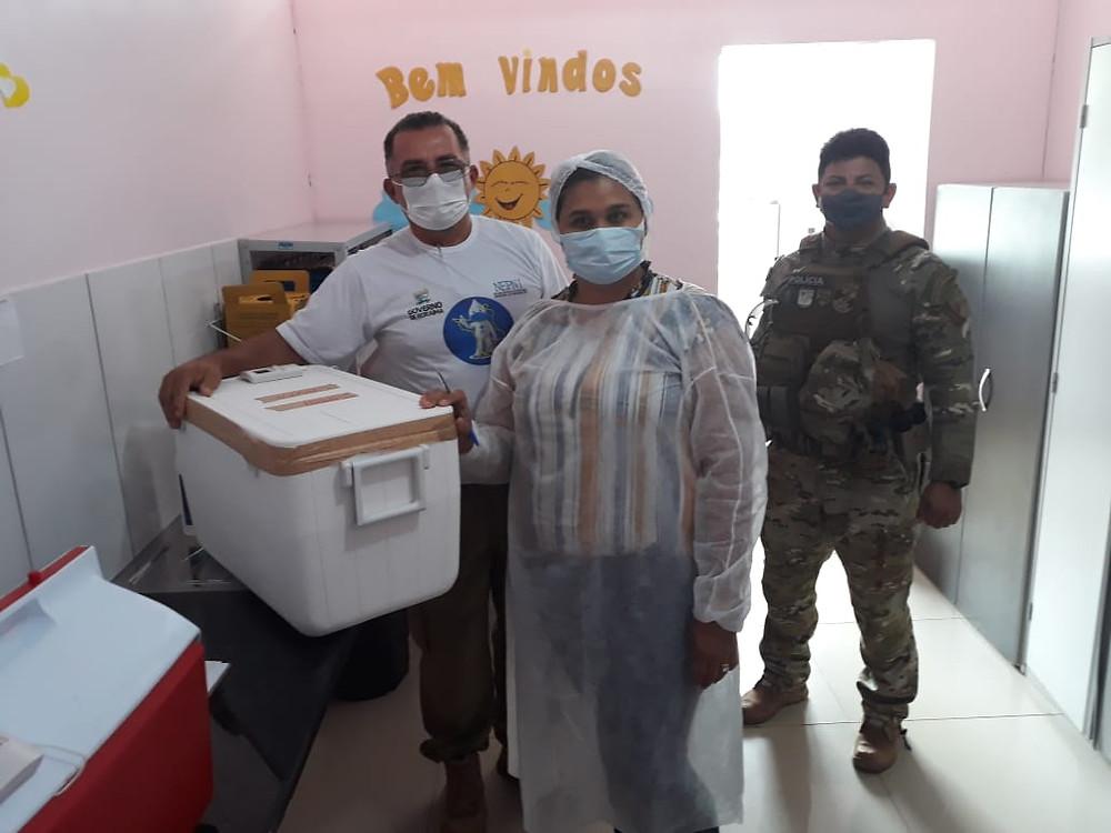 mais vacinas contra a covid-19 em Roraima