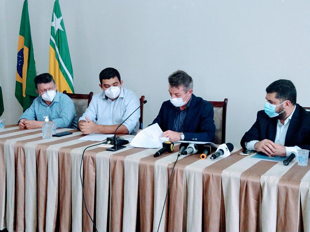 O governador Antônio Denarium lançou novo pacote de medidas econômicas