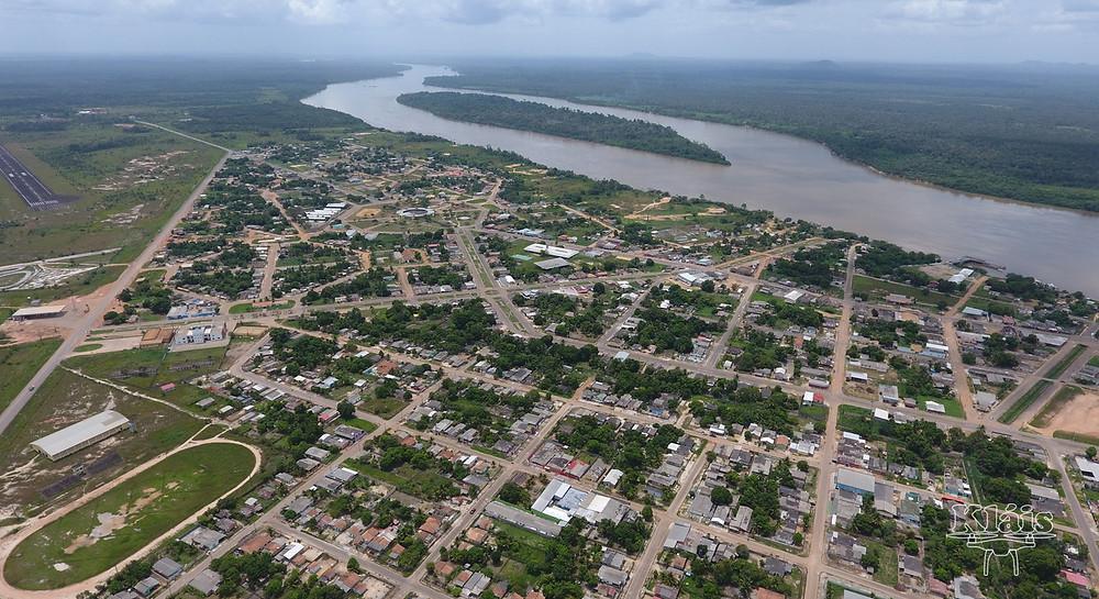município de Caracaraí, Sul de Roraima