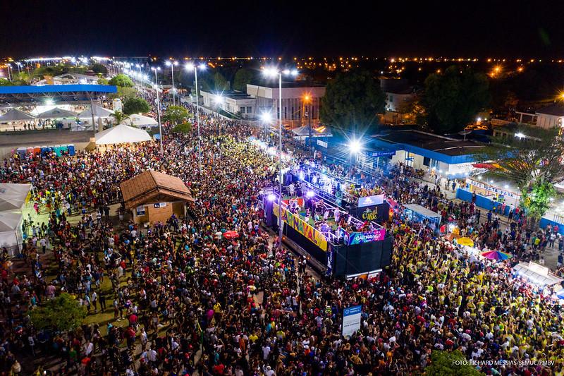pontos facultativos do Carnaval são mantidos em Boa Vista