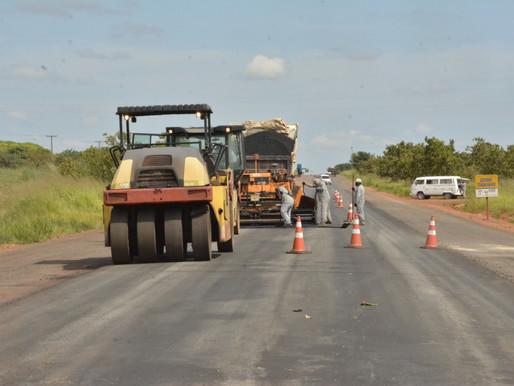 Obras na BR-174 Norte garantem segurança e melhoria da trafegabilidade para condutores