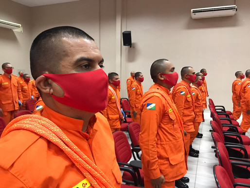 CURSO DE FORMAÇÃO - Corpo de Bombeiros realiza ingresso de alunos sargentos