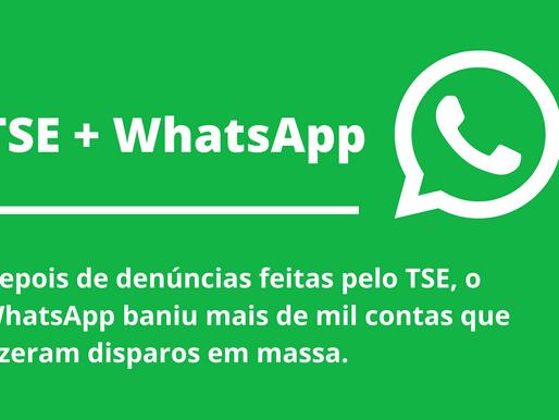 Whatsapp bane contas depois de denúncias de disparos em massa feitas pelo TSE