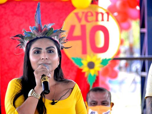 PSB de Normandia confirma chapa composta por mulher e indígena para disputar a prefeitura
