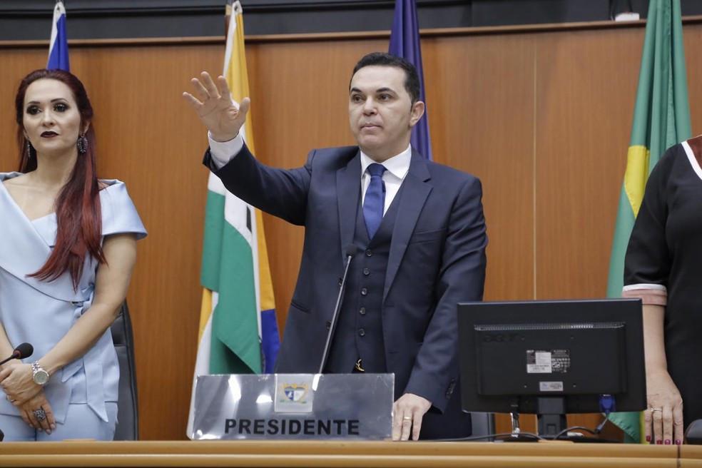 jalser é afastado da presidência da Assembleia Legislativa