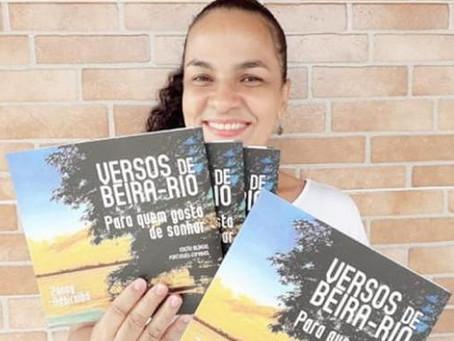 Zanny Adairalba lança 'Versos de beira-rio para quem gosta de sonhar'