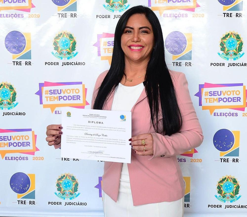 prefeita Diane Coelho