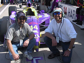 Emil_Mike in Indy 500 pit lane.JPG