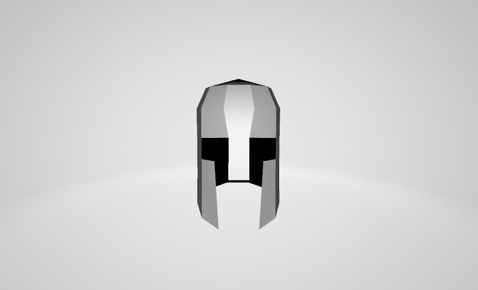 3D Helmet Front