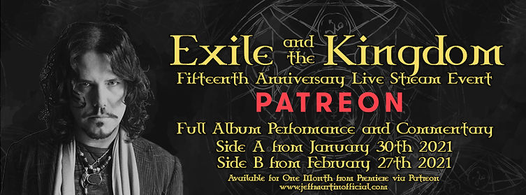 Jeff Martin Exile and the Kingdom Stream