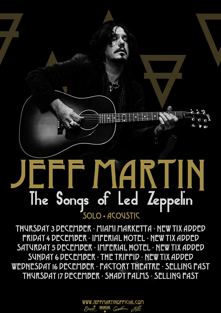 Jeff Martin The Songs of Led Zeppelin Al