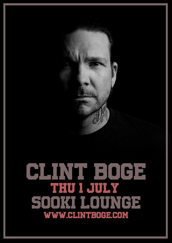 Clint Boge - Sooki Lounge - 1 July Poste
