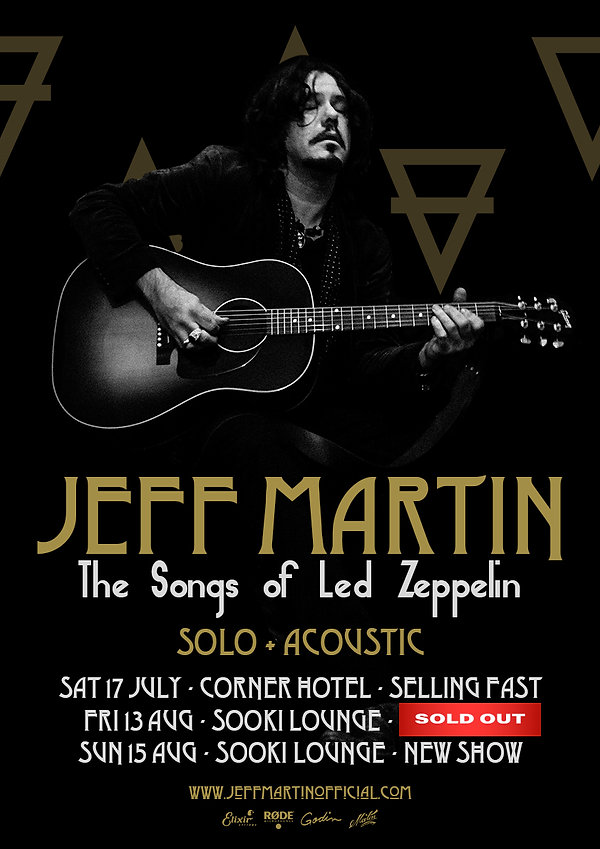 Jeff Martin The Songs of Led Zeppelin -