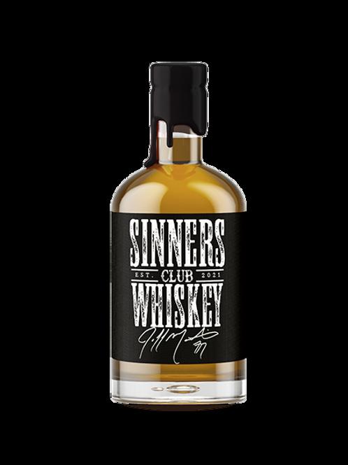 Jeff Martin Sinners Club Whiskey