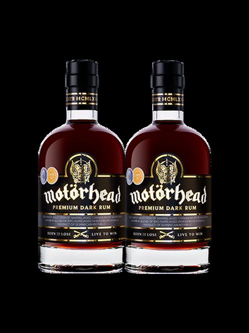 Motörhead Premium Dark Rum x 2