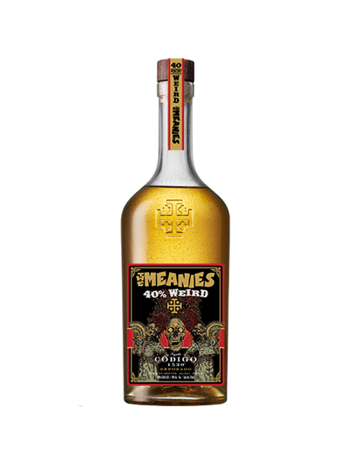 The Meanies 40% Weird Tequila