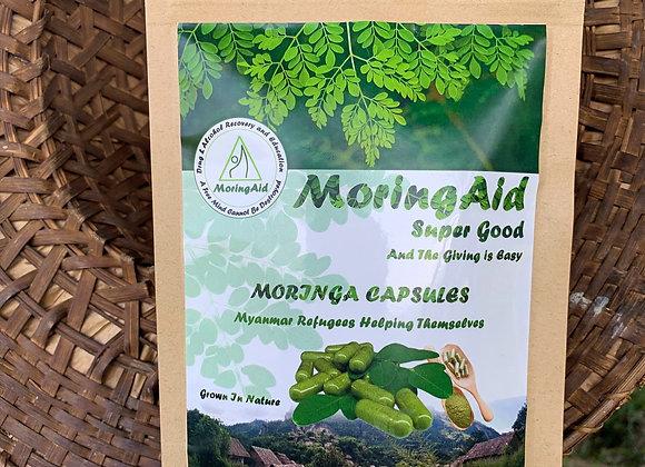 Pure Moringa Vegan Capsules 60gm