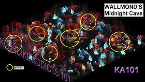 Wallmond's Midnight Cave updated