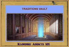 Traditions Vault