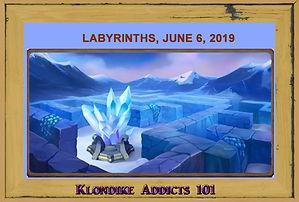 Labyrinths June 6, 2019