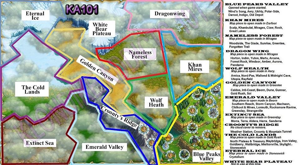 Regions 10 9 20