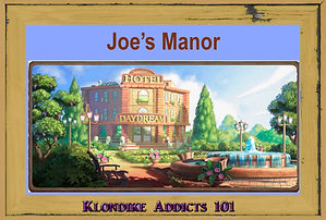 Joe's Manor