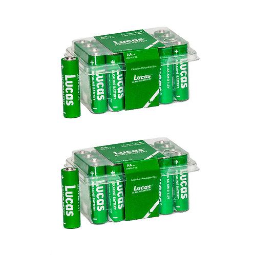 AA Batteries-2 Packs