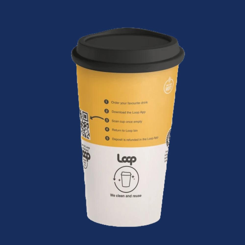 reusable cup qr code