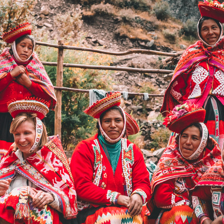Arrow x Awamaki: supporting local female artisans in Peru