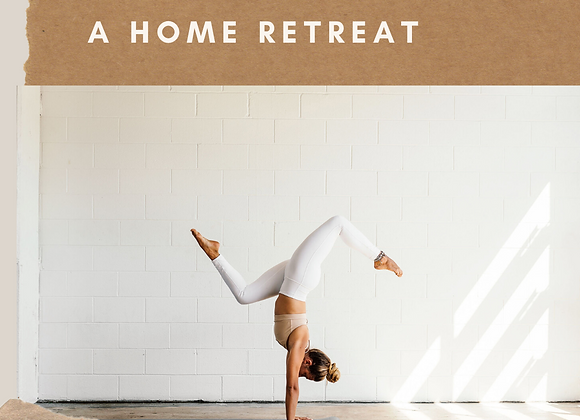 Aim: a home retreat