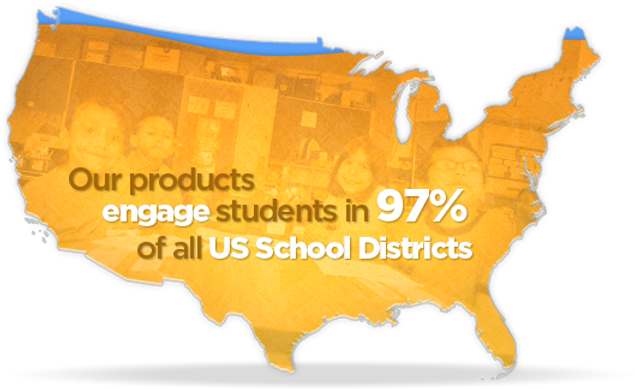 Sunburst products are in 97% of US School Districts