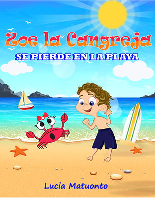 Zoe the crab cover espanol V1 - Kindle C
