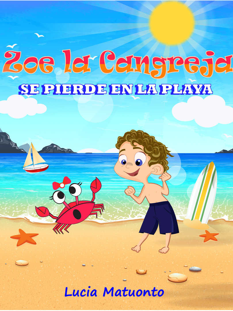 Zoe the crab cover espanol V1 - Kindle C