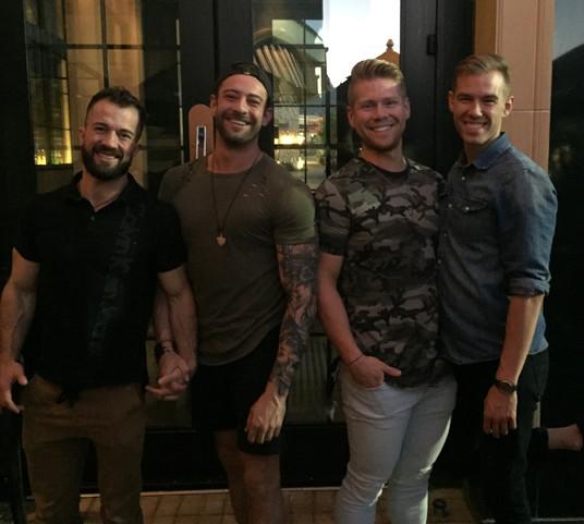 Brock, Riley, Keith & Quinn!