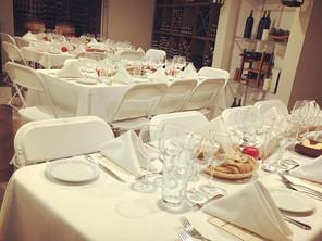 Bowers Harber Farm to Table Wine Cellar Dinner