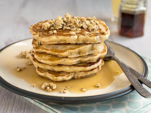 Best Ever Granola Pancakes