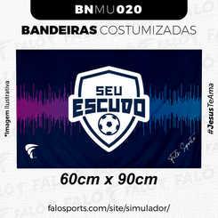 020U BANDEIRAS CUSTOMIZADAS