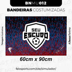 012U BANDEIRAS CUSTOMIZADAS