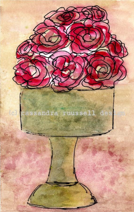 CASS ART ROSE