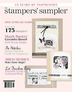 2008 cass art Stamper's Sampler June 2008 1COV