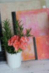 theartjournalist_art journal desk with flowers.JPG