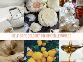 Self-CareCold Repair:Ginger Lemonade
